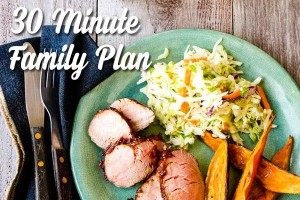 eMeals 30 Minute Family plan