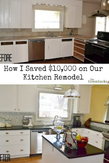How I Saved Over $10,000 On Our Kitchen Remodel {And You Can Too!}