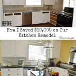 How I Saved on Kitchen Remodel