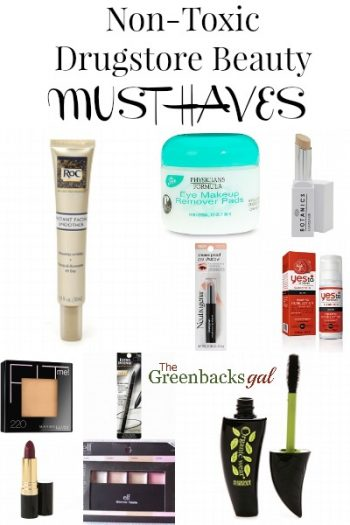 10 Drugstore Beauty Must Haves That Are Safe to Use!
