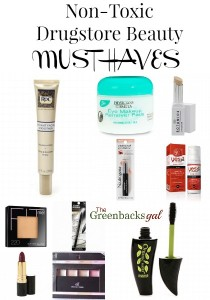 Non-Toxic Drugstore Beauty Must Haves