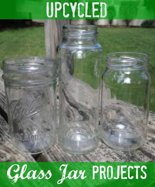 Upcycled Glass Jar Projects