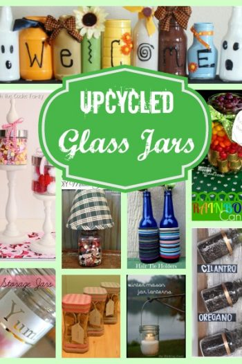 Upcycled Glass Jars Projects