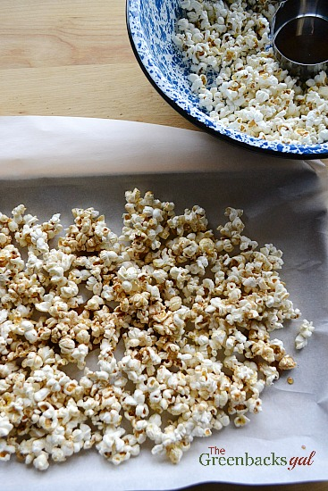 Sweet and Spicy Popcorn Balls