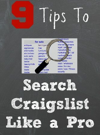 Use These 9 Tips to Search Craigslist Like a Pro