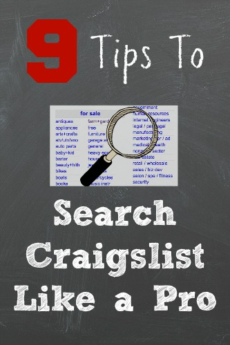 Tips to Search Craigslist
