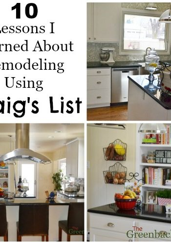 10 Lessons I Learned About Remodeling a Kitchen Using Craig's List