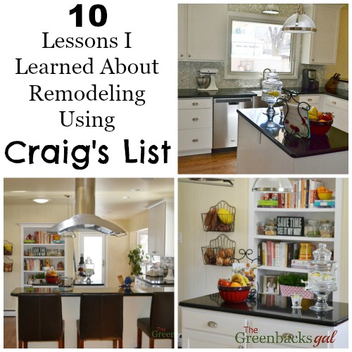 10 Lessons for Remodeling Using Craigs List