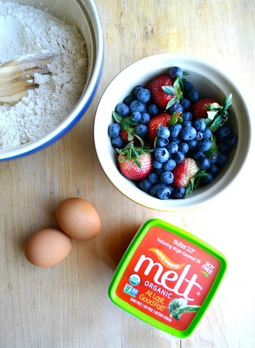 Cherry Berry Whole Wheat Muffins Ingredients