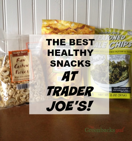 Best Healthy Snacks at Trader Joes