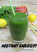 Cleansing Green Juice Recipe Made in the Blender