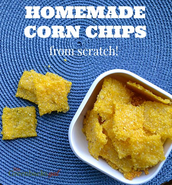 Homemade Corn Chips from Scratch