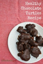 Healthy Chocolate Turtles Recipe Made With Just 3 Ingredients