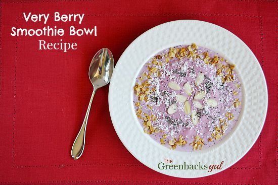 Very Berry Smoothie Bowl Recipe