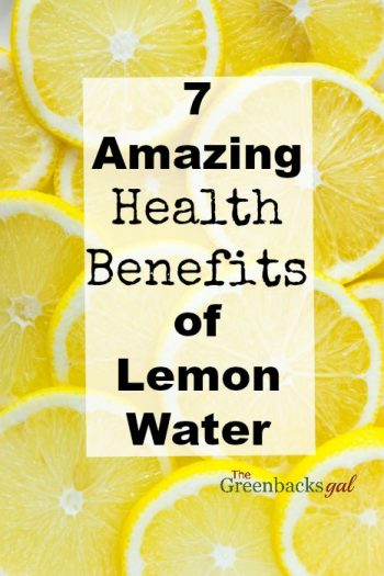 7 Amazing Health Benefits of Lemon Water