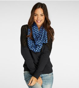 Recycled Polyester Circle Scarf