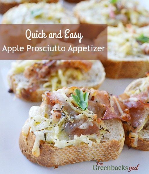 Quick and Easy Apple Prosciutto Appetizer Recipe. (Includes complete how-to VIDEO) These appetizers satisfy both the sweet and the salty.