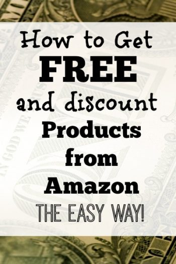 This is not a drill. This truly is the easiest way to get free and discount products from Amazon.