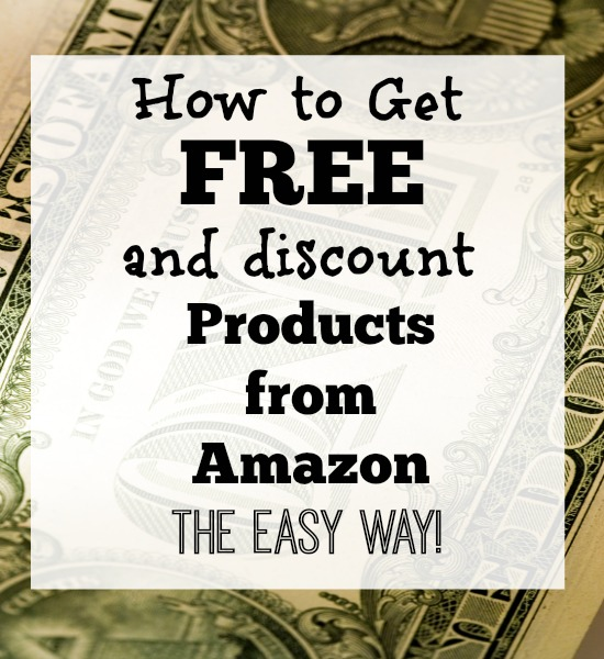 How to Get Free and Discount Products from Amazon The Easy Way!