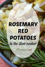 Red Potatoes with Rosemary in the Slow Cooker (VIDEO)