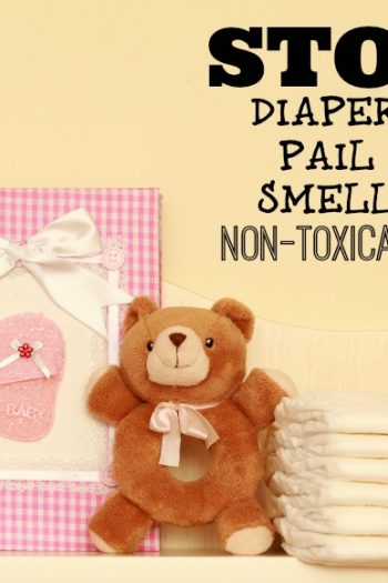 Stop Diaper Pail Smells With This Non-Toxic Solution