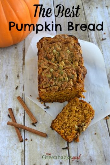 Whole Grain Pumpkin Bread