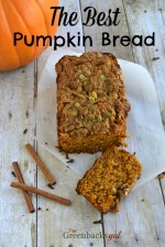 This is the Best Whole Grain Pumpkin Bread