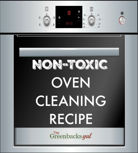 DIY Non-Toxic Oven Cleaning Recipe