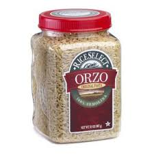 Rice Select whole wheat orzo