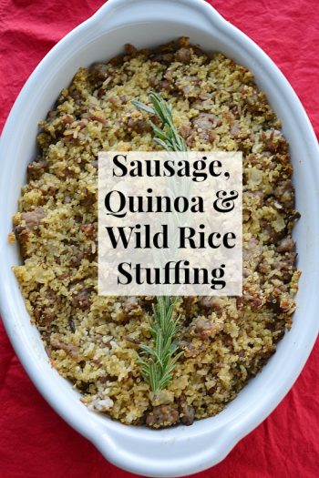 Sausage, Quinoa and Wild Rice Whole Grain Stuffing