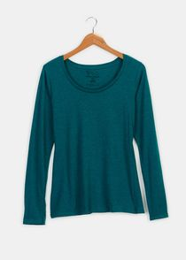 organic cotton long sleeved t