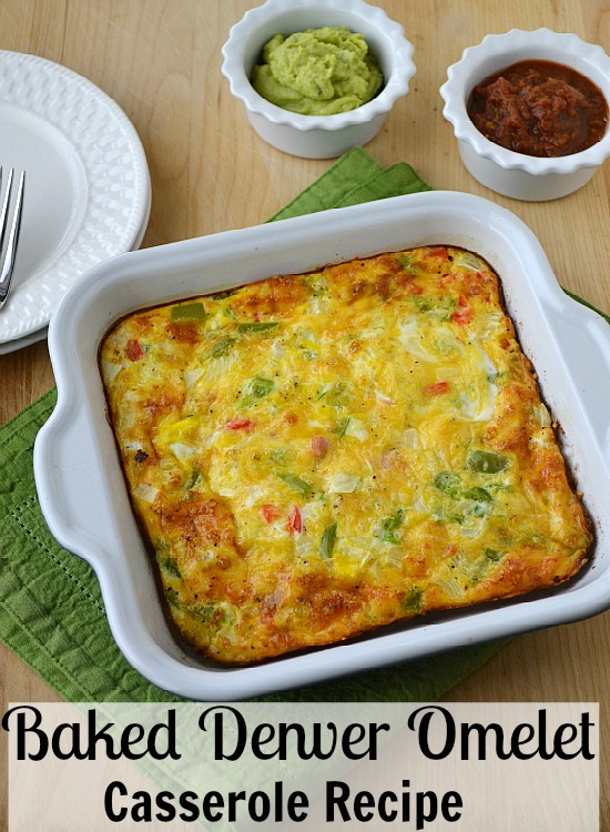 Baked Denver Omelet Casserole Recipe with VIDEO