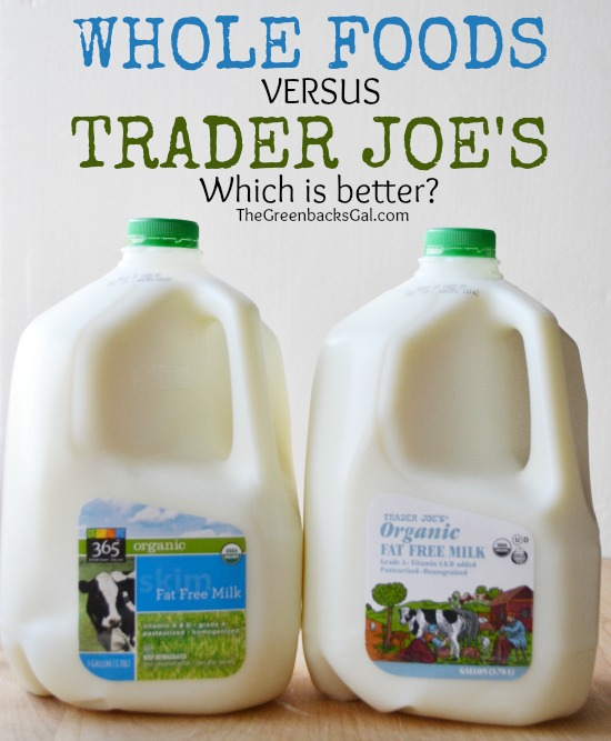 Which is better: Whole Foods or Trader Joes? A price comparison