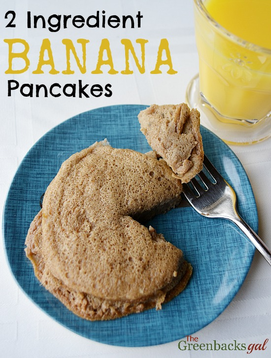 Quick and healthy two ingredient banana pancakes recipe natural quick and healthy two ingredient banana pancakes recipe ccuart Images