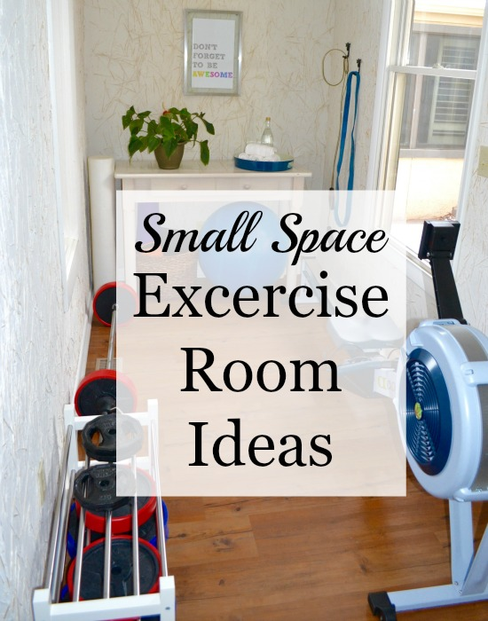 Small space exercise room ideas natural green mom - Small bedroom space ideas property ...
