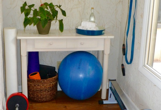 Utlizing a small exercise space