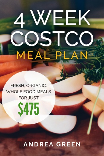 4 Week Costco Meal Plan