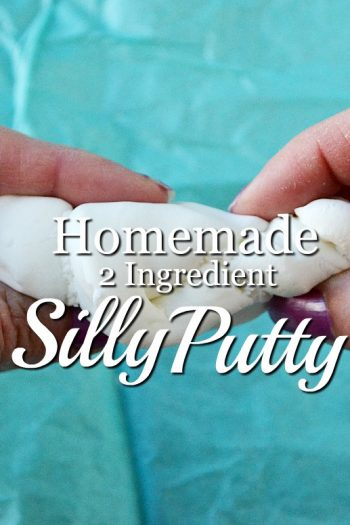 2 Ingredient Homemade Silly Putty Recipe