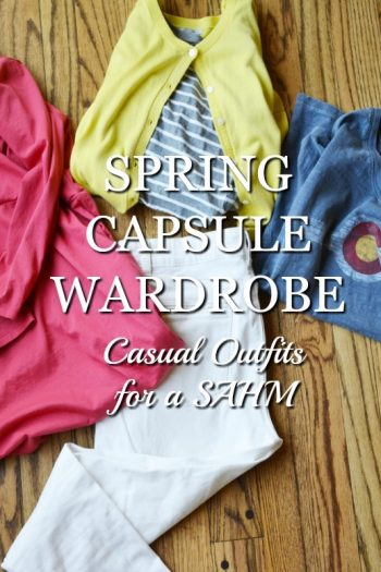Spring Capsule Wardrobe: Casual Outfits for a SAHM