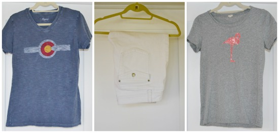 spring capsule wardrobe ultra casual clothing