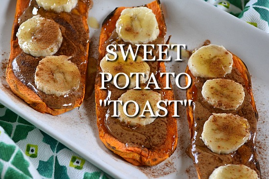 How to really make sweet potato toast. No, not in the toaster.