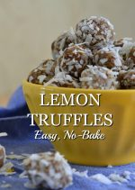 Easy No-Bake Lemon Truffles Recipe
