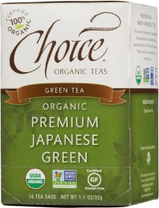 choice organic green tea