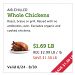 Whole Foods Market: Save on Chicken and Produce