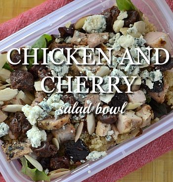Chicken and Cherry Salad Bowl Recipe