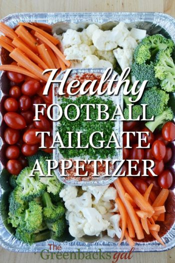 The Easiest Healthy Football Tailgate Appetizer