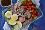 Weekly Meal Prep: Steak and Egg Salad Bowl Recipe