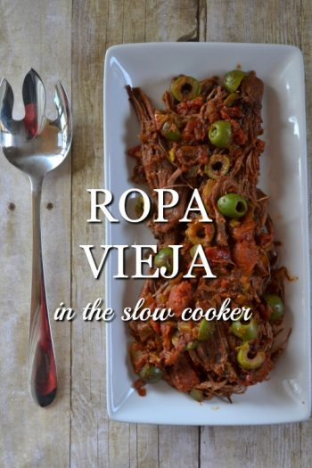 How to Make Ropa Vieja in the Slow Cooker