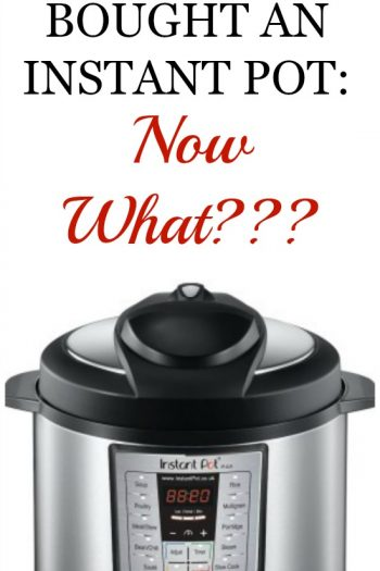 You Just Bought an Instant Pot: Now What???