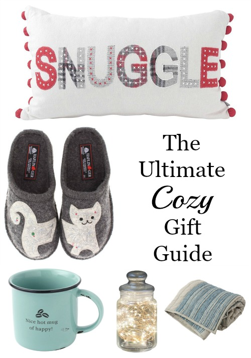 The ultimate gift guide for all things cozy. Find the perfect gift for her.